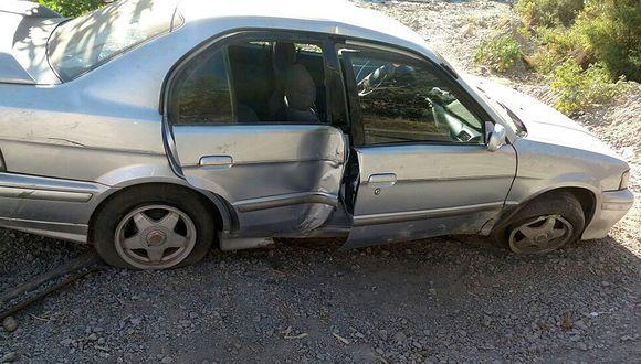 Samegua: Familia sufre accidente en sector de Ollería