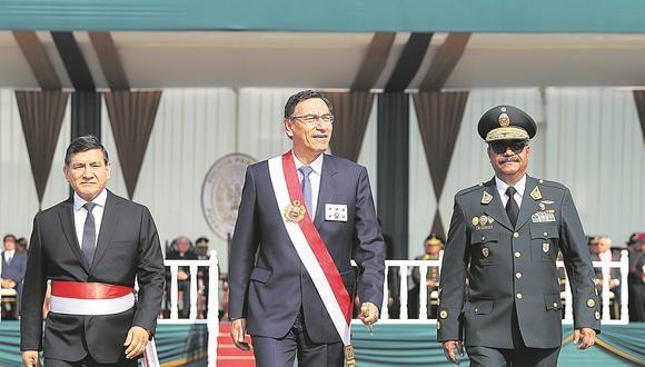 DUDAS. El presidente Vizcarra busca desmarcarse de polémico proyecto, pero documento abre más de una interrogante.