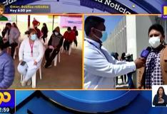 Universitarios menores de edad reciben primera dosis en Tacna