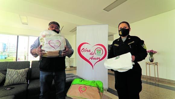 Policías realizan campañas para cubrir los apoyos que realizan