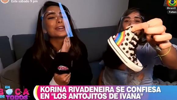 Korina Rivadeneira aconsejó a Ivana Yturbe sobre la maternidad. (Foto: Captura de video)