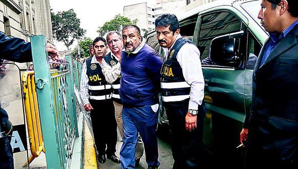 Gerardo Viñas Dioses  será recluido hoy en el penal Piedras Gordas I