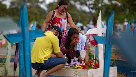 Pese a la reducción de la incidencia de la pandemia y el mayor ritmo de vacunación, Brasil sigue siendo el segundo país del mundo con más muertes por COVID-19. (Foto:  Michael DANTAS / AFP)