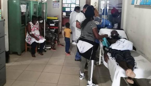 Madre de Dios: La Diresa informó que tras brindar atención médica a un grupo de haitianos que ingresó irregularmente a nuestro territorio, dos dieron positivo a COVID-19. (Foto Diresa)
