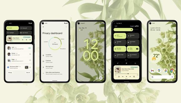 Según se ha explicado, será posible personalizar la función para configurar que cada gesto lleve a cabo distintos controles en los smartphones con Android 12. (Android 12 / Europa Press)