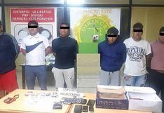 "Mandan a prisión a 4 presuntos integrantes de ""Los Malditos de Libertadores"""