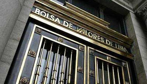 Economía: BVL baja un 0,03% al cierre de sesión