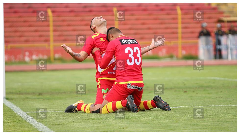 Sport Huancayo clasificó a la final del Torneo de Verano tras empatar 1-1 con Melgar