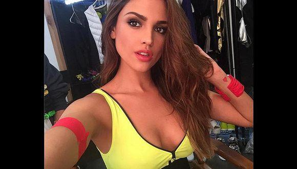 Eiza González promete mostrar video íntimo con reconocido futbolista