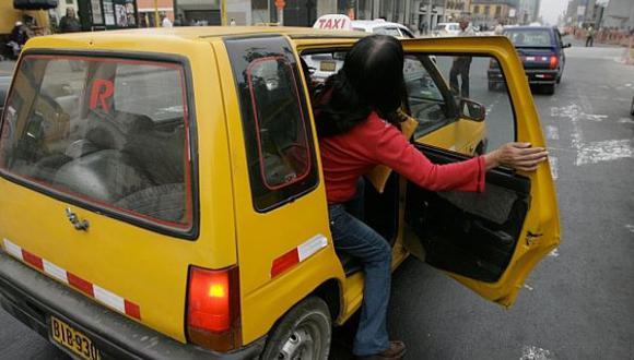 Robos en taxis aumentan