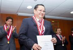 Luis Arce Córdova anuncia su intención de declinar al pleno del Jurado Nacional de Elecciones