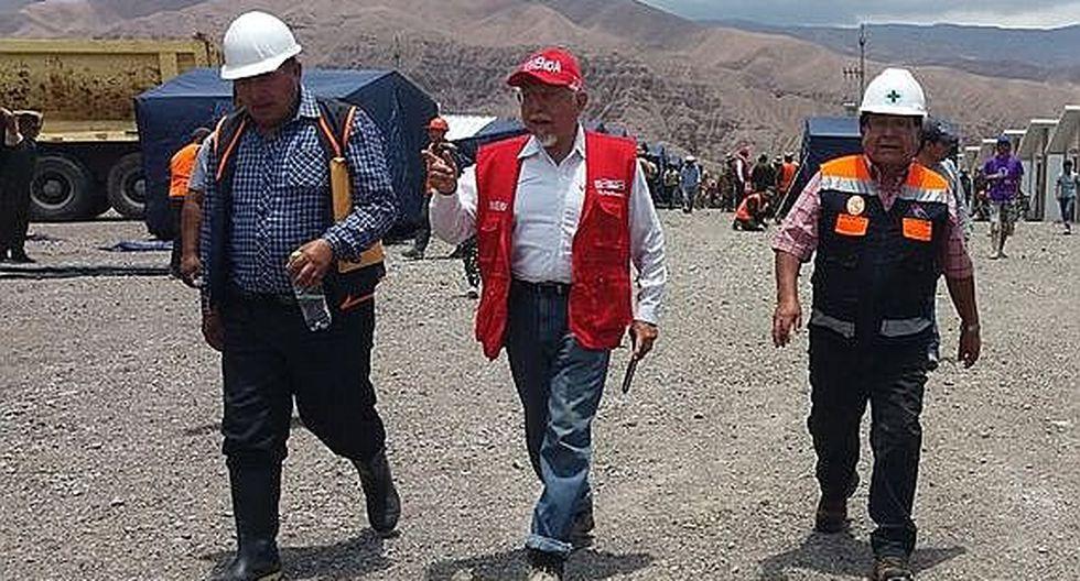 Ministro de Vivienda evaluará daños en Tacna