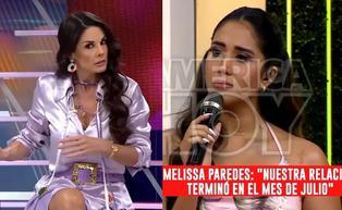 """Rebeca Escribens sobre Melissa Paredes: """"Fregó a todas las conductoras de América Hoy"""" (VIDEO)"""