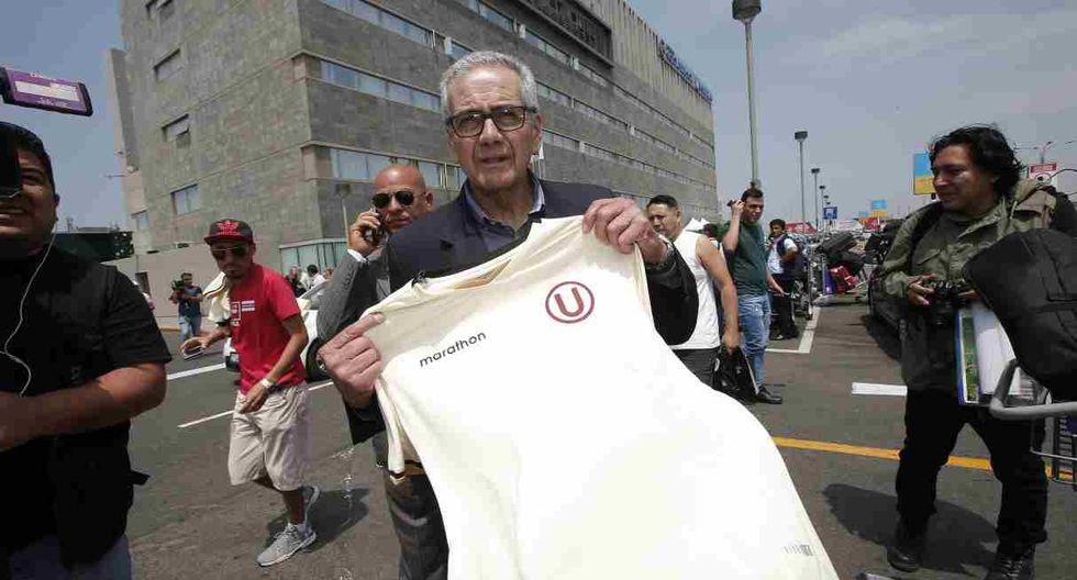 Gregorio Pérez se refirió al partido entre Universitario y Carabobo por la Copa Libertadores. (Foto: GEC)