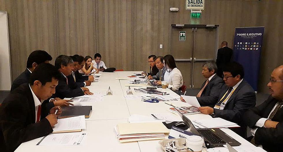 En séptimo GORE Ejecutivo autoridades piden financiamiento para proyectos de irrigación