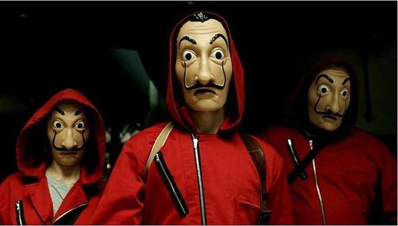 ¿Qué significa la máscara de Dalí para los protagonistas de 'La casa de papel'?
