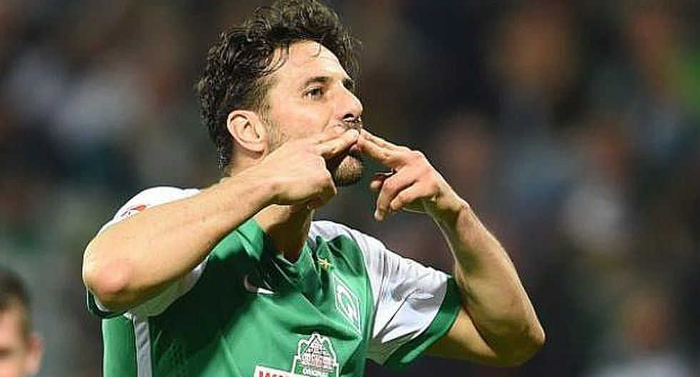 """Claudio Pizarro: el homenaje de la Bundesliga que lo califica de """"leyenda viva del fútbol"""""""