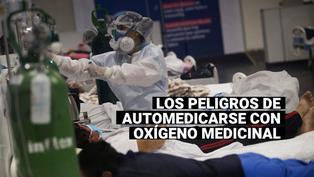 ¿Cuáles son los peligros de la automedicación con oxígeno medicinal?