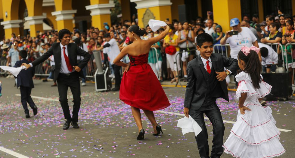 Entre las actividades que pudieron disfrutar los asistentes estuvieron las danzas tradicionales como el vals, festejo, zamacueca, polka, el son de los diablos, entre otras. (Foto: Municipalidad de Lima)