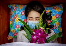 En templos de Tailandia organizan funerales para personas vivas