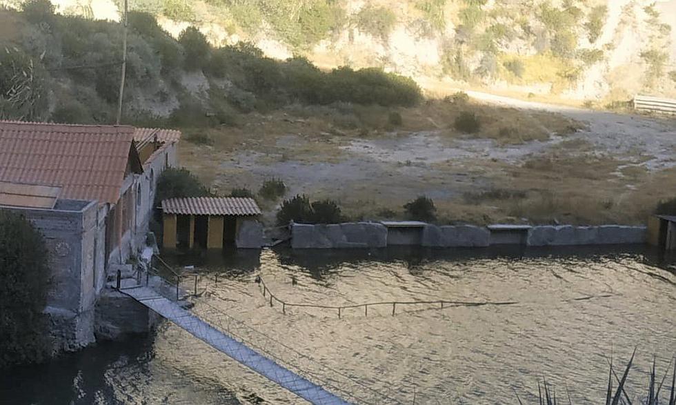 Arequipa: Represamiento del río Colca cubre los baños termales del valle del Colca (FOTOS)