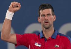 Tokio 2020: Novak Djokovic más cerca de la medalla olímpica