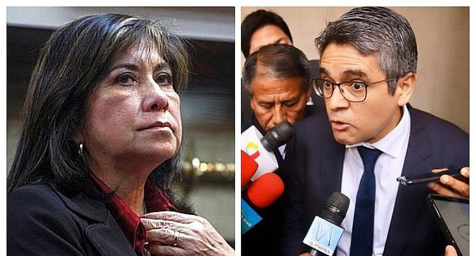 Martha Chávez calificó de cortina de humo allanamiento de oficinas de Confiep