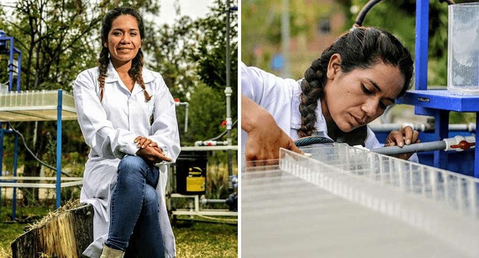 Ingeniera peruana crea prototipo de planta purificadora de agua en Ayacucho