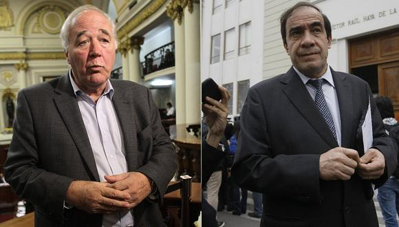 """Víctor García Belaunde: """"Yonhy Lescano no coordina con la bancada de Acción Popular"""" (VIDEO)"""