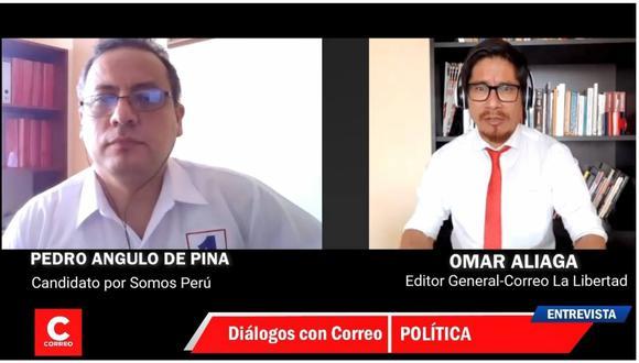 Candidato al Congreso por Somos Perú con el número 1 también impulsa sanciones más severas para menores infractores.