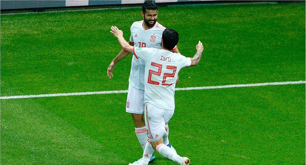 Diego Costa reconoció que tuvo suerte en el gol que le anotó a Irán (VIDEO)