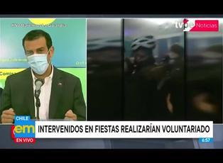 Coronavirus en Chile: proponen que detenidos en fiestas cuiden a pacientes covid-19