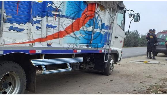 Hampones también se llevaron 100 sacos de menestras y maíz. El occiso es identificado como David Carranza Cruz. (Foto: HCO Tv Huamachuco)