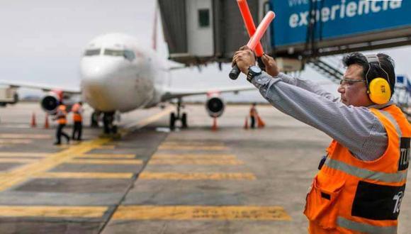 Finalmente, el Ejecutivo dio luz verde para la reanudación de vuelos internacionales. (MEF).
