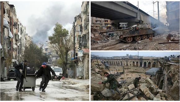 Siria: Suspenden evacuación de civiles de Alepo, donde se reanudan los combates