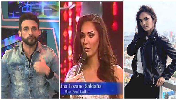Rodrigo González lanza dura crítica contra ganadora del Miss Perú por esta razón (FOTO)