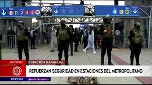 Agentes del Grupo Terna podrán ingresar a estaciones del Metropolitano con tarjetas especiales ante delincuencia (VIDEO)