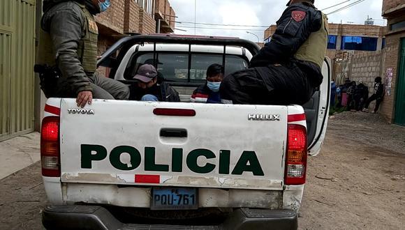 Los efectivos de la PNP, los detuvieron cuando caminaban de manera sospechosa. (Foto: Referencial)