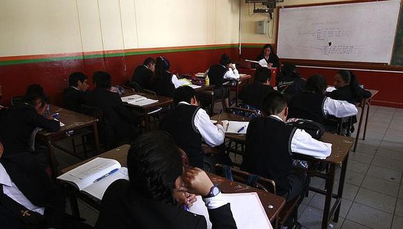 Ugel investiga 9 colegios que volvieron a las aulas en Arequipa| Foto: Referencial