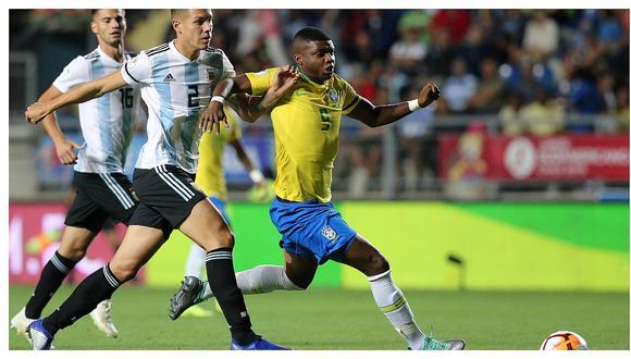 Argentina perdió 1-0 con Brasil y se quedó sin el título del Sudamericano Sub 20 (VIDEO)