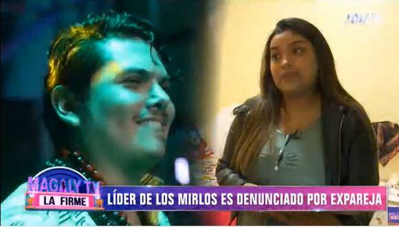 Expareja denunció al director de Los Mirlos. (Captura Magaly TV La Firme)