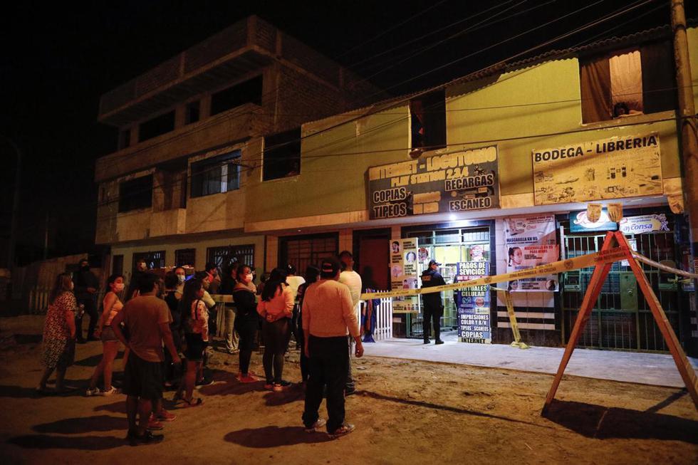 Un joven identificado como José Manuel Checa Vásquez, de 26 años, fue asesinado el sábado 23 de enero, minutos antes del toque de queda (9:00 p.m.), luego de recibir varios impactos de bala en Asentamiento Humano Defensores de la Patria, en el distrito de Ventanilla. Foto: Joel Alonzo/ @photo.gec