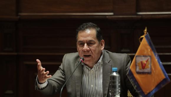 El vocero de UPP definirá su voto de confianza tras la presentación del premier. (Foto: Anthony Niño de Guzmán / @photo.gec)