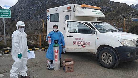 Raura dona equipos de bioseguridad a centros de Salud