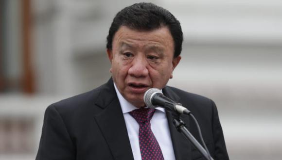 """Wong consideró que el modelo que plantearía Najar como eventual jefe del Gabinete Ministerial """"es negativo para cualquier país"""". (Foto: Anthony Niño de Guzmán / @photo.gec)"""