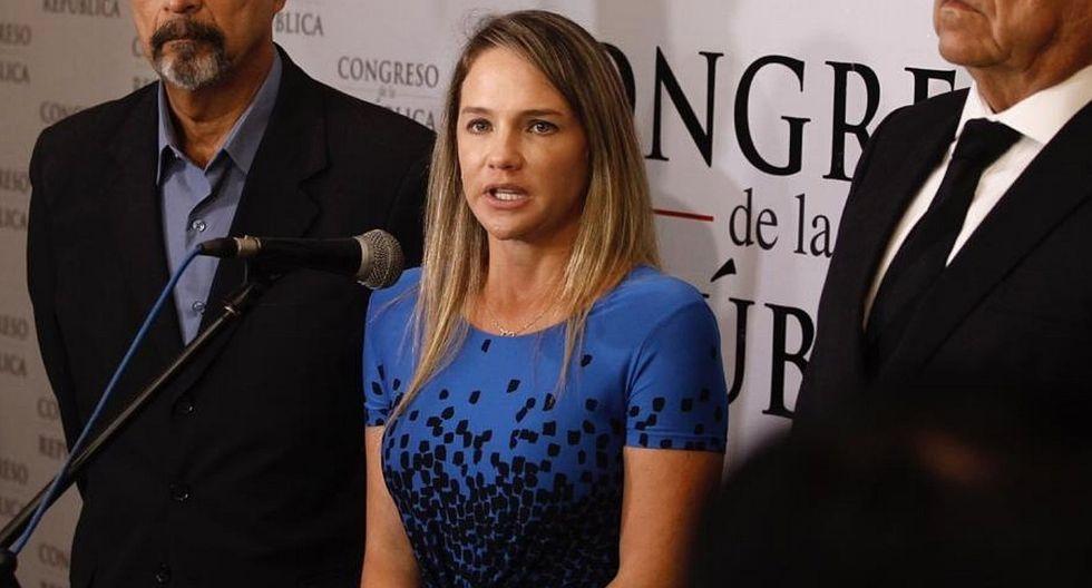 """Luciana León anuncia preparación de proyecto de ley para """"mejorar"""" la prisión preventiva"""