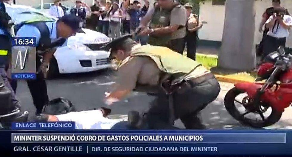 Ministerio del Interior suspende cobro de gastos policiales a municipios