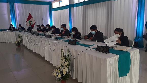 Aprueban cuestión de confianza a funcionarios del Gobierno Regional de Hvca.