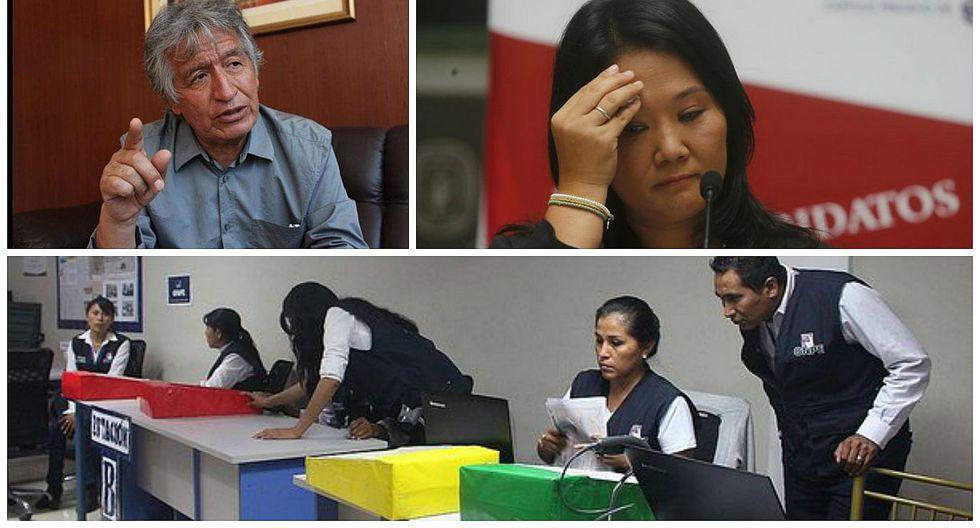 Lambayeque: Investigan actas marcadas antes del sufragio a favor de Fuerza Popular