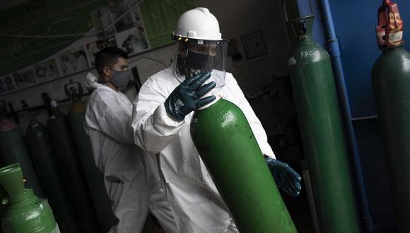 Empresa Linde Perú indicó que ya ha informado a las autoridades del Estado sobre la situación de la producción del oxígeno medicinal. (Foto: Joel Alonzo/GEC)